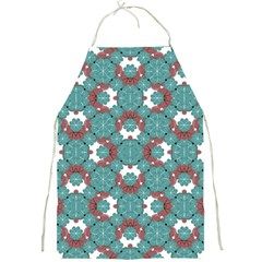 Colorful Geometric Graphic Floral Pattern Full Print Aprons
