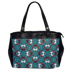 Colorful Geometric Graphic Floral Pattern Office Handbags