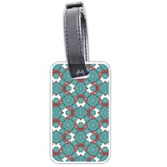 Colorful Geometric Graphic Floral Pattern Luggage Tags (two Sides)