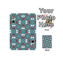 Colorful Geometric Graphic Floral Pattern Playing Cards 54 (mini)