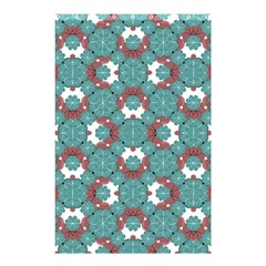 Colorful Geometric Graphic Floral Pattern Shower Curtain 48  X 72  (small)