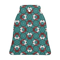 Colorful Geometric Graphic Floral Pattern Ornament (bell)