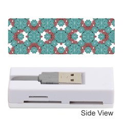 Colorful Geometric Graphic Floral Pattern Memory Card Reader (stick)