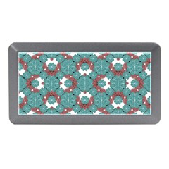 Colorful Geometric Graphic Floral Pattern Memory Card Reader (mini)