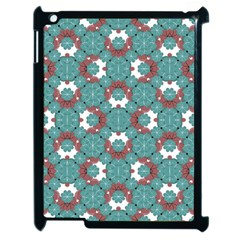 Colorful Geometric Graphic Floral Pattern Apple Ipad 2 Case (black)