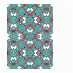 Colorful Geometric Graphic Floral Pattern Small Garden Flag (two Sides)