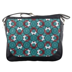 Colorful Geometric Graphic Floral Pattern Messenger Bags