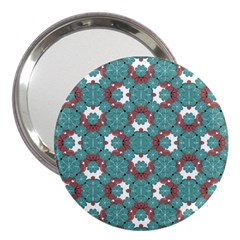 Colorful Geometric Graphic Floral Pattern 3  Handbag Mirrors