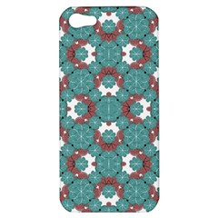 Colorful Geometric Graphic Floral Pattern Apple Iphone 5 Hardshell Case