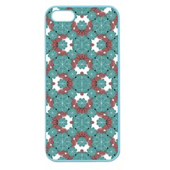 Colorful Geometric Graphic Floral Pattern Apple Seamless Iphone 5 Case (color)