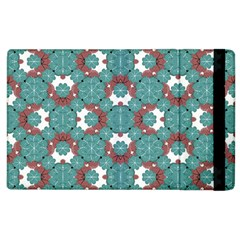Colorful Geometric Graphic Floral Pattern Apple Ipad 3/4 Flip Case