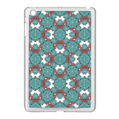 Colorful Geometric Graphic Floral Pattern Apple Ipad Mini Case (white)