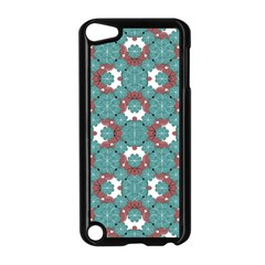 Colorful Geometric Graphic Floral Pattern Apple Ipod Touch 5 Case (black)