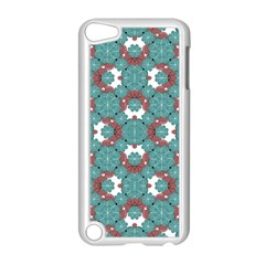 Colorful Geometric Graphic Floral Pattern Apple Ipod Touch 5 Case (white)