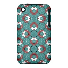 Colorful Geometric Graphic Floral Pattern Iphone 3s/3gs