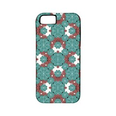 Colorful Geometric Graphic Floral Pattern Apple Iphone 5 Classic Hardshell Case (pc+silicone)