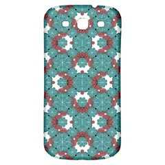 Colorful Geometric Graphic Floral Pattern Samsung Galaxy S3 S Iii Classic Hardshell Back Case
