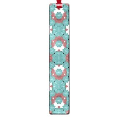 Colorful Geometric Graphic Floral Pattern Large Book Marks