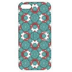 Colorful Geometric Graphic Floral Pattern Apple Iphone 5 Hardshell Case With Stand