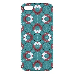 Colorful Geometric Graphic Floral Pattern Apple Iphone 5 Premium Hardshell Case