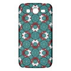 Colorful Geometric Graphic Floral Pattern Samsung Galaxy Mega 5 8 I9152 Hardshell Case