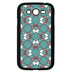 Colorful Geometric Graphic Floral Pattern Samsung Galaxy Grand Duos I9082 Case (black)