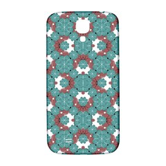 Colorful Geometric Graphic Floral Pattern Samsung Galaxy S4 I9500/i9505  Hardshell Back Case