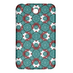 Colorful Geometric Graphic Floral Pattern Samsung Galaxy Tab 3 (7 ) P3200 Hardshell Case