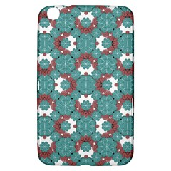 Colorful Geometric Graphic Floral Pattern Samsung Galaxy Tab 3 (8 ) T3100 Hardshell Case