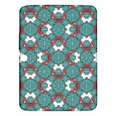 Colorful Geometric Graphic Floral Pattern Samsung Galaxy Tab 3 (10 1 ) P5200 Hardshell Case