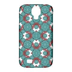Colorful Geometric Graphic Floral Pattern Samsung Galaxy S4 Classic Hardshell Case (pc+silicone)