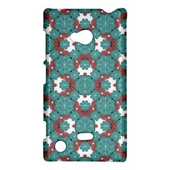 Colorful Geometric Graphic Floral Pattern Nokia Lumia 720