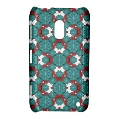 Colorful Geometric Graphic Floral Pattern Nokia Lumia 620