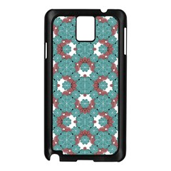 Colorful Geometric Graphic Floral Pattern Samsung Galaxy Note 3 N9005 Case (black)