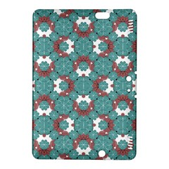 Colorful Geometric Graphic Floral Pattern Kindle Fire Hdx 8 9  Hardshell Case