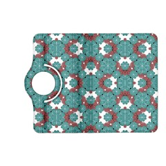 Colorful Geometric Graphic Floral Pattern Kindle Fire Hd (2013) Flip 360 Case
