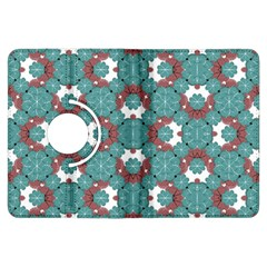 Colorful Geometric Graphic Floral Pattern Kindle Fire Hdx Flip 360 Case