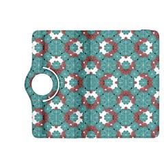 Colorful Geometric Graphic Floral Pattern Kindle Fire Hdx 8 9  Flip 360 Case