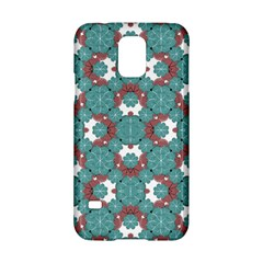 Colorful Geometric Graphic Floral Pattern Samsung Galaxy S5 Hardshell Case