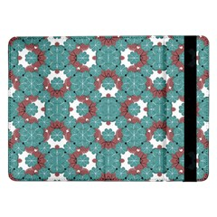 Colorful Geometric Graphic Floral Pattern Samsung Galaxy Tab Pro 12 2  Flip Case