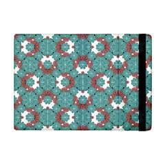 Colorful Geometric Graphic Floral Pattern Ipad Mini 2 Flip Cases