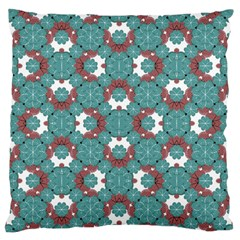 Colorful Geometric Graphic Floral Pattern Standard Flano Cushion Case (two Sides)