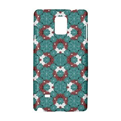 Colorful Geometric Graphic Floral Pattern Samsung Galaxy Note 4 Hardshell Case