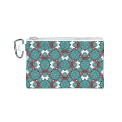Colorful Geometric Graphic Floral Pattern Canvas Cosmetic Bag (s)