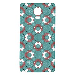 Colorful Geometric Graphic Floral Pattern Galaxy Note 4 Back Case