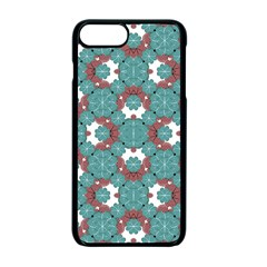 Colorful Geometric Graphic Floral Pattern Apple Iphone 7 Plus Seamless Case (black)