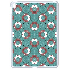 Colorful Geometric Graphic Floral Pattern Apple Ipad Pro 9 7   White Seamless Case