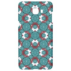 Colorful Geometric Graphic Floral Pattern Samsung C9 Pro Hardshell Case