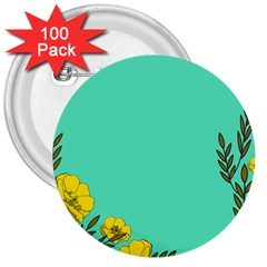 A New Day 3  Buttons (100 Pack)