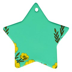 A New Day Star Ornament (two Sides)